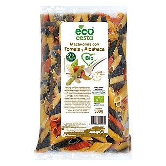 Ecocesta Macarrones de tomate y albahaca bio 500 g