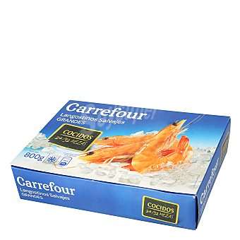 Carrefour Langostino salvaje cocido 24/32 800 g
