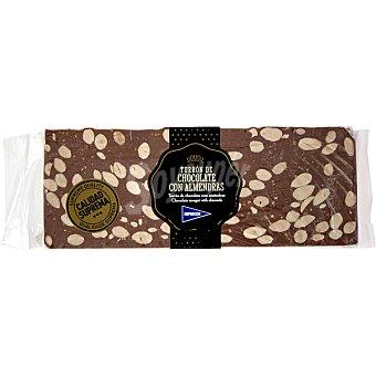 Hipercor Turrón de chocolate con almendras artesano calidad suprema tableta 500 g