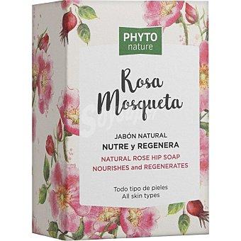 Luxana Phyto Nature Jabón natural nutre y regenera Rosa Mosqueta Pastilla 120 g