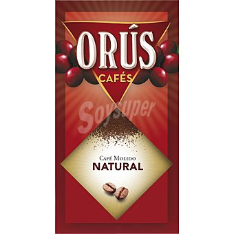 Orus Superior café natural molido Paquete 250 g