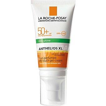 La Roche-Posay Anthelios XL gel crema toque seco solar SPF 50+ anti-brillos frasco 50 ml Frasco 50 ml