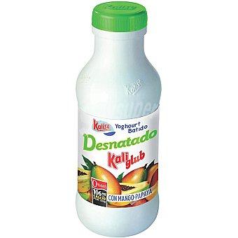 KALISE KALI GLUB Yogur líquido desnatado con mango y papaya botella 750 g 750 g
