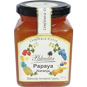 PALMELITA Confitura extra de papaya y naranja Frasco 314 g