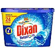 Detergente cápsula duo-caps total Botella 24 dosis Dixan