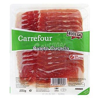Carrefour Paleta curada en lonchas 200 g