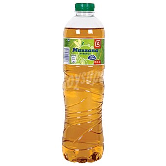 DIA Refresco sin gas manzana Botella 1.5 lt