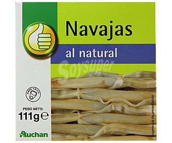 Productos Económicos Alcampo Navajas chilenas 63 gramos
