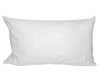 PRODUCTO ALCAMPO Funda protectora estampada confort para almohada, 50% algodón, 105 centímetros alcampo