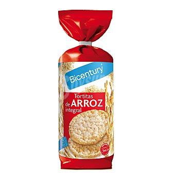 Bicentury Tortitas de Arroz integrales  Envase 130 g