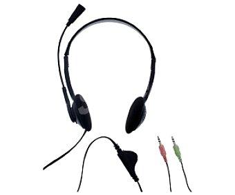 TNB CSMFIRST Auriculares para PC con microfono, conexión 2 clavijas Jack 3,5mm