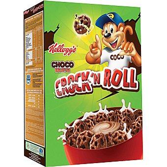 Choco Krispies Kellogg's Crock'n Roll Cereales de desayuno con chocolate Paquete 350 g
