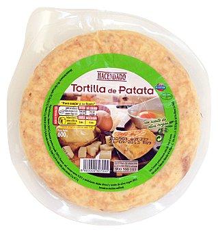Hacendado Tortilla patatas (papas) refrigerada u 600 g