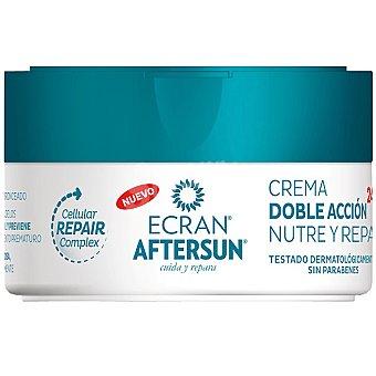 Ecran Aftersun crema doble acción nutre y repara  tarro 200 ml