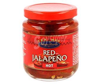 Santa Maria Jalapeños rojos picantes 215 g