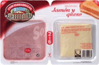 Casa Tarradellas Jamon cocid y queso Sobre 230 grs