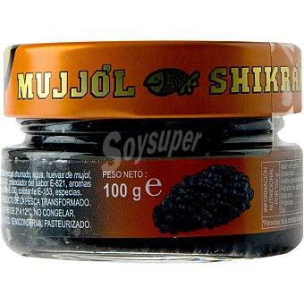Eurocaviar Mujjól Shikrán Huevas de Mujjól y Arenque (Sucedáneo del Caviar) Tarro 120 g