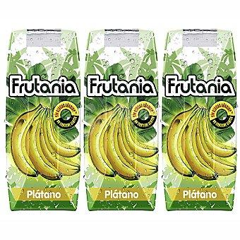 Frutania Néctar de plátano y limón Pack 3 envase 250 ml