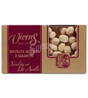 Vicens Chocolate con almendra estuche 250 g