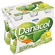 Yogur líquido natural desnatado de lima limón Pack 6 u x 100 g Danacol Danone