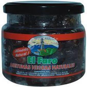 Faro Aceitunas negras al natural Frasco 500 g
