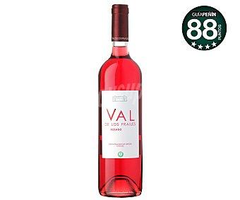 VAL DE LOS FRAILES Vino rosado, denominación de origen Cigales Botella 75 Centilitros