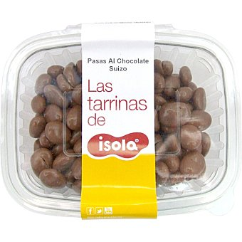 ISOLA Pasas al chocolate suizo Tarrina 250 g