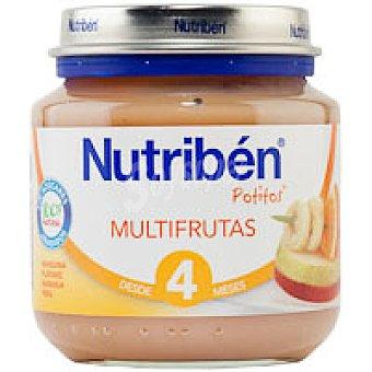 Nutribén Potito multifrutas Tarro 130 g