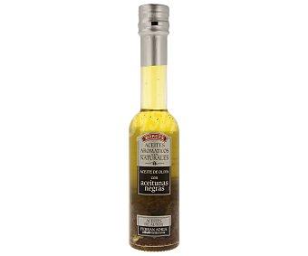 Borges Aceite de oliva aromático con aceitunas negras 200mililitros