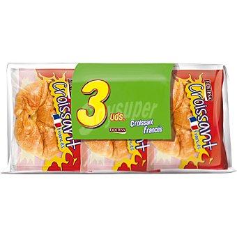 Eidetesa croissant francés paquete 330 g pack ahorro 3 unidades