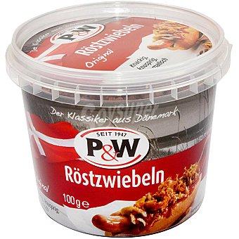 P&W Cebolla frita crujiente Envase 100 g
