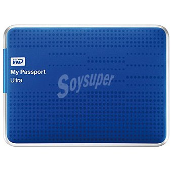 WESTER Disco Duro Externo My Passport 2TB en color azul