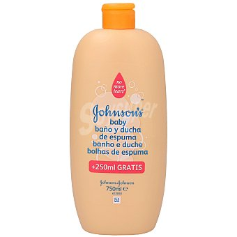 Johnson's Gel de baño baby niños Bote 750 ml