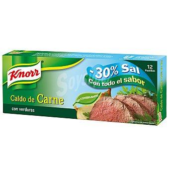 Knorr Pastillas de Caldo Doble de Carne Knorr 12 ud