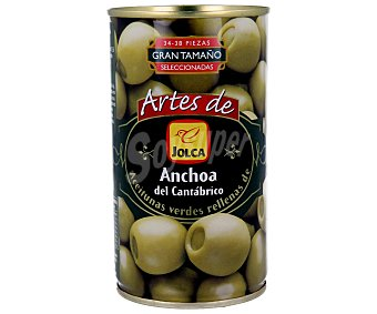 Jolca Aceitunas rellenas de anchoa del Cantábrico Lata 150 g