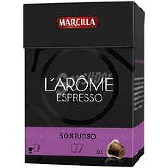 L'Arôme Espresso Marcilla Cápsulas Sontuoso 70u