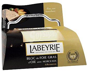 Labeyrie Foie gras de oca con un 30% de trozos 190 g