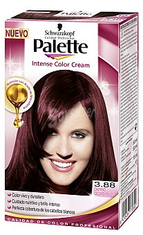 Palette Schwarzkopf Tinte castaño oscuro rojizo Nº 3.88 Intense Colors 1 Unidad
