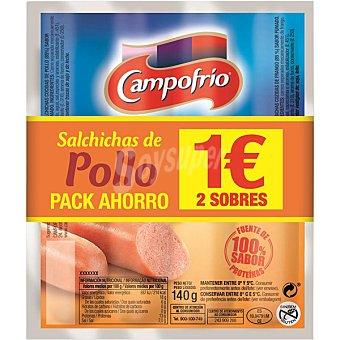 Campofrío Salchichas de pollo  envase de 280 g