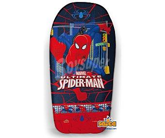 Marvel Tabla de body board recubieta de PVC de 104 centímetros y con imágenes de spiderman 1 unidad