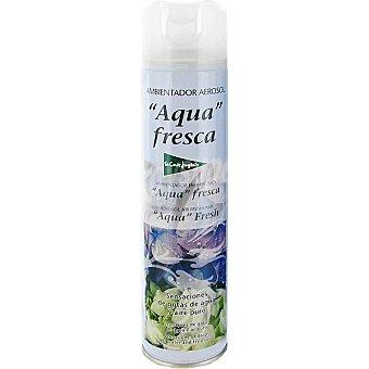 El Corte Inglés Ambientador agua fresca Sensaciones de gotas de agua y aire puro Spray 405 ml
