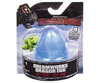 BIZAK Nuevos Huevos de dragón, Dragon Berk con 4 mini dragones de 2,5centímetros en el interior 1 unidad