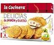 Empanadillas de jamón y queso paquete de 300 gr La Cocinera