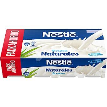 Nestlé Yogur natural 8 unidades de 120 g