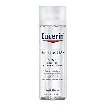Eucerin Solución Micelar Limpiadora Cutis sensible 3 en 1  200 ml