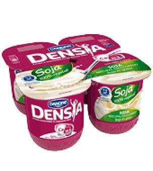 Danone - Densia Yogur de soja Danone pack de 4x125 g