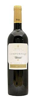 Comportillo Vino tinto rioja gran reserva Botella 750 cc