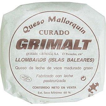 Grimalt Queso curado mallorquín  3,5 kg (peso aproximado pieza)
