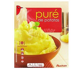 Auchan Puré de patatas 500 grs