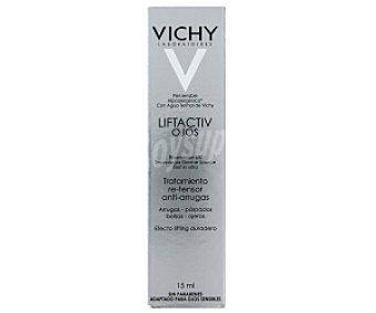 VICHY Liftactiv Tratamiento potente re-tensor anti-arrugas , piel sensible con agua termal calmante y regenerante 15 Mililitros